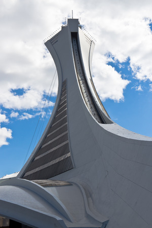 olympic stadium: The tower of the Olympic Stadium in Montreal, Canada