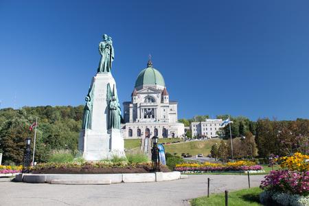oratorio: L'Oratorio di San Giuseppe a Montreal, in Canada � un sito storico nazionale del Canada Editoriali