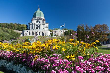 Das Saint Joseph Oratorium in Montreal, Kanada ist ein National Historic Site of Canada Lizenzfreie Bilder