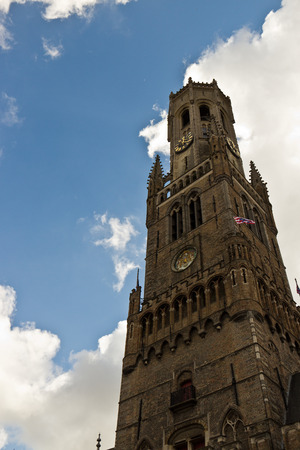 Belfort (Belfry) bell tower in Bruges