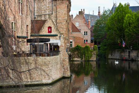 Iconic view of Bruges, Belgium