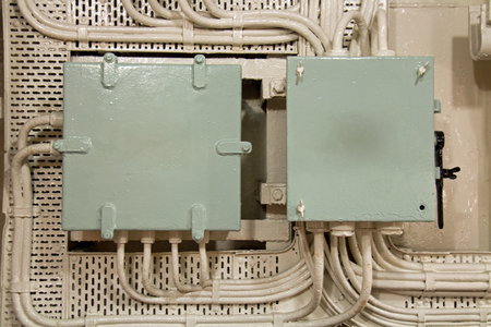 Group of industrial electrical junction boxes
