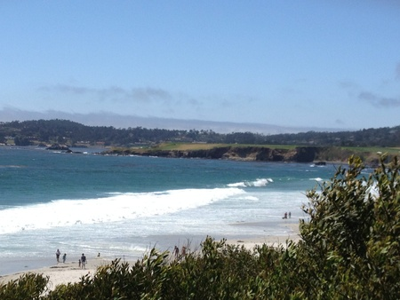 Afbeelding van kiezelstrand van een nabijgelegen strand