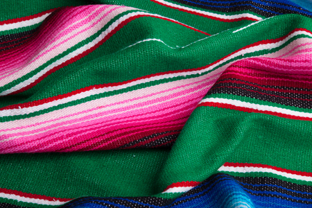 Traditional Mexican Serape background Stock Photo
