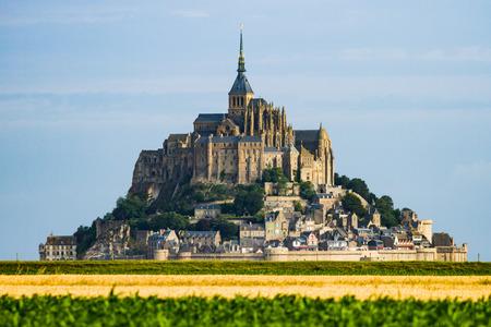 Mont Saint Michel - Normandy - France Zdjęcie Seryjne