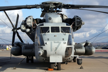 US Marines helicopter Stock Photo - 6075669