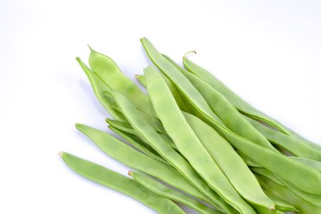 String beans isolated photo