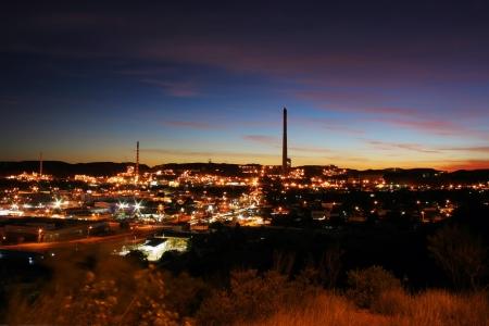 mijnbouw: Mijnbouw stad Mount Isa, Queensland, Australië  Stockfoto