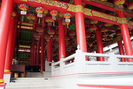 Chinese colorful temple Stock Photo - 7485731