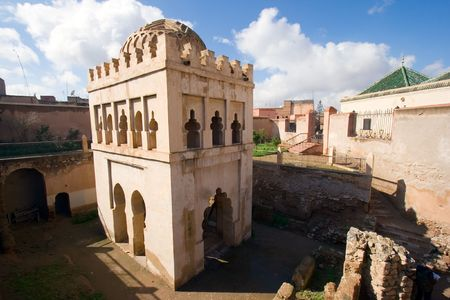 Old fort in Marrakech, Morocco