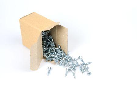 固定ネジを開くのボックス 写真素材