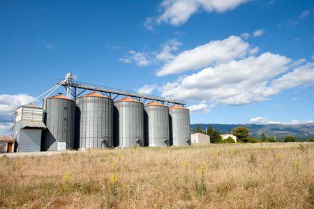 Wheat silo's Stock Photo - 7761596