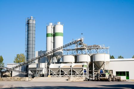 Cement factory machinery Stock Photo - 8032369