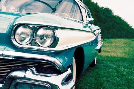 classic car: Classic car close up Stock Photo