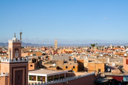 Historical walled city of Marrakesh - Morocco