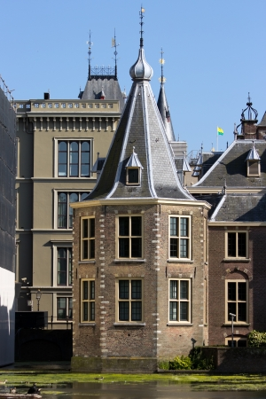 Torentje (The Little Tower) is the official office of the Prime Minister of The Netherlands since 1982 in The Hague. Stockfoto