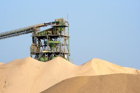 Sand processing plant  Stock Photo - 21691320