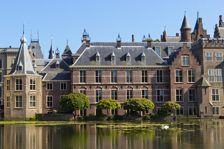 Dutch Parliament in The Hague, The Netherlands  photo