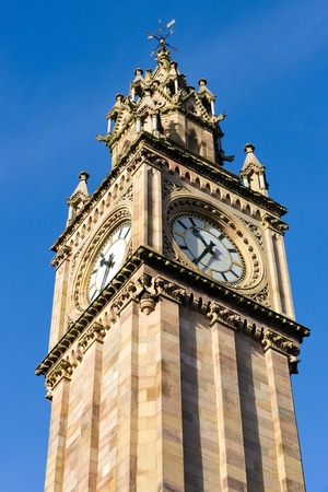 Belfast Clock tower  Prince Albert Memorial Clock at Queen photo