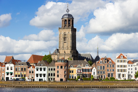 City view of Deventer, The Netherlands  photo