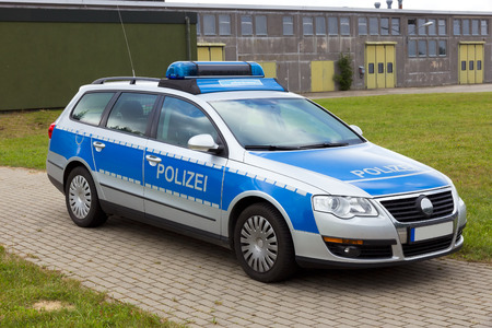 German Police patrol car