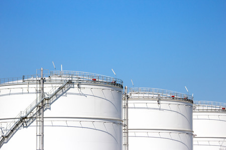 silo: Oil storage silo