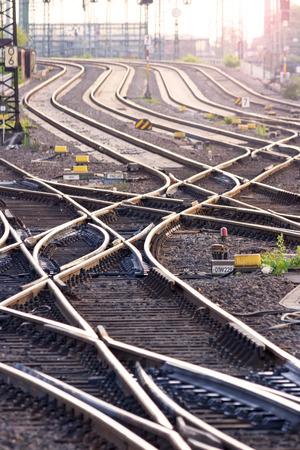 complicated journey: Railroad tracks