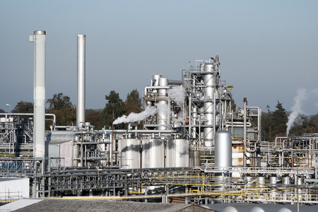 industria petroquimica: Fábrica de productos químicos