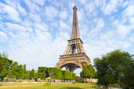 towers: Eiffel tower in Paris