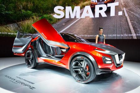 iaa: FRANKFURT, GERMANY - SEP 16, 2015: Nissan Gripz at the IAA 2015. Editorial
