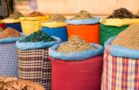 moroccan cuisine: Herbs and spices