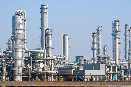 rafinery: petrochemical industrial plant Stock Photo