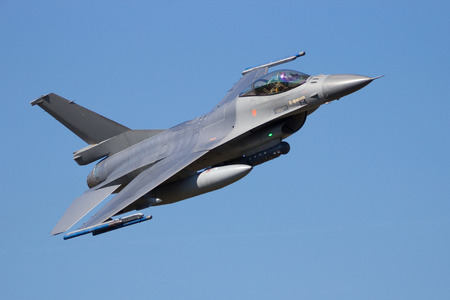 Fighter jet flyby