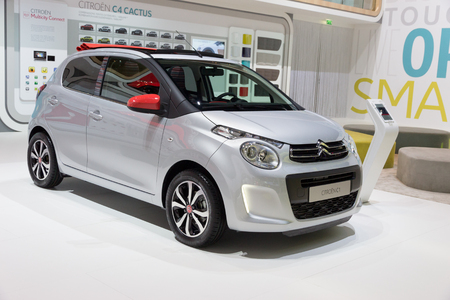 Geneva Switzerland March 4 2015 Citroen C1 At The 85th