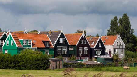 marken: Historic town of Marken near Amsterdam in Holland.