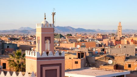Historical city of Marrakech