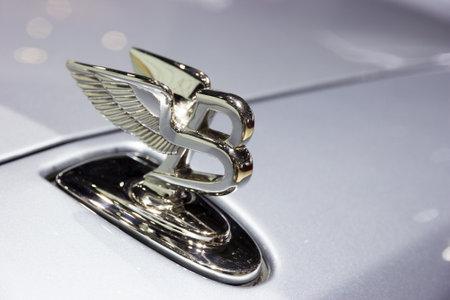 GENEVA, SWITZERLAND - MARCH 1, 2016: Bentley Mulsanne luxury car showcased at the 86th Geneva International Motor Show.