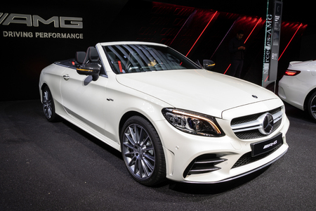 2017 Mercedes AMG C43 S Cabriolet car
