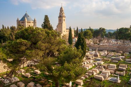 Abbey of the Dormition on Mount Zion, Jerusalem, Israel