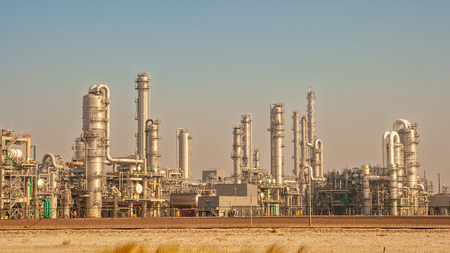 elektrownia rafinerii ropy naftowej, Zdjęcie Seryjne