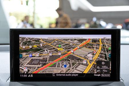 navigation map Audi car
