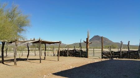 rancho: Paisaje del paisaje del rancho de montaña