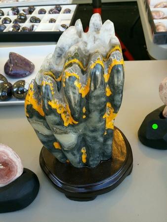 Expensive gem show master piece