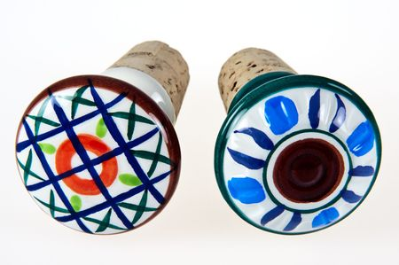 Ceramic Top Cork Stoppers photo