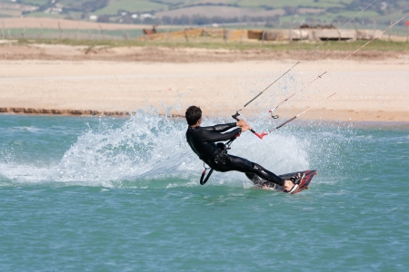 commits: Kite surfing