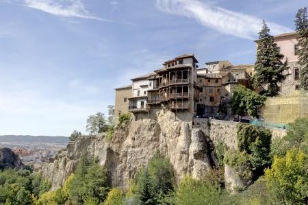 cuenca: The Hanging Houses, Cuenca, Spain Editorial