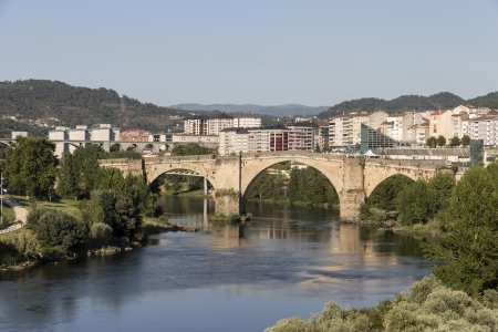 Rivière Minho, Ourense, Galice, Espagne