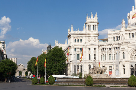 cibeles: The Cibeles square at Madrid, Spain
