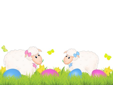 colourfull: Easter sheep