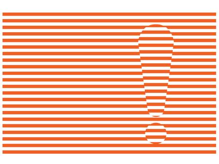 luxacion: signo de exclamaci�n en dislocaciones rayas rojas